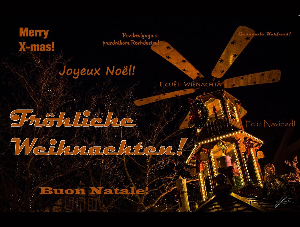 Lichtwert dankt allen Freunden und Kooperationspartnern und wünscht ...